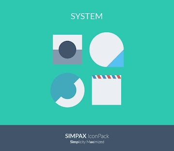 SIMPAX ICON PACK Screenshot