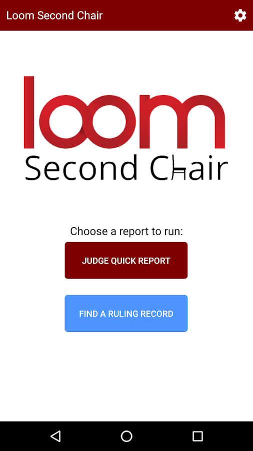 Second Chair- screenshot