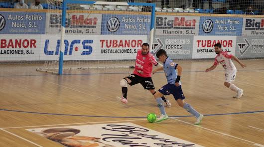 Durán Ejido Futsal cae ante Noia y ya piensa en el play off de ascenso