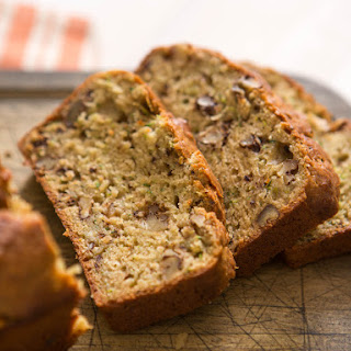 Zucchini Bread With Walnuts