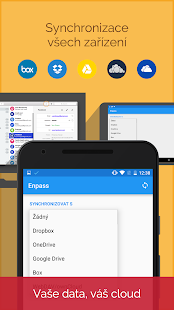 Enpass password manager - náhled