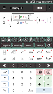 Handy Free Scientific Calculator - náhled
