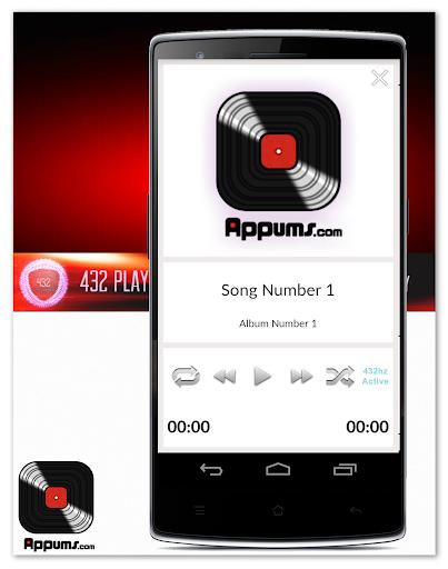 432 Player - Free Pure Sound