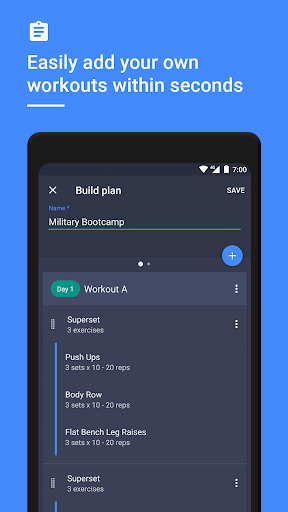 Gym Workout Tracker & Planner for Weight Lifting 1.38.0 Screenshots 3