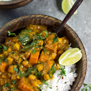 Sweet Potato And Spinach Curry Coconut Milk Recipes.