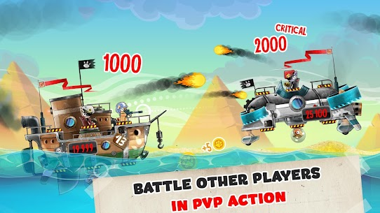 Cats vs Pigs: Battle Arena MOD (Unlimited Gold Coins/Diamonds) 1