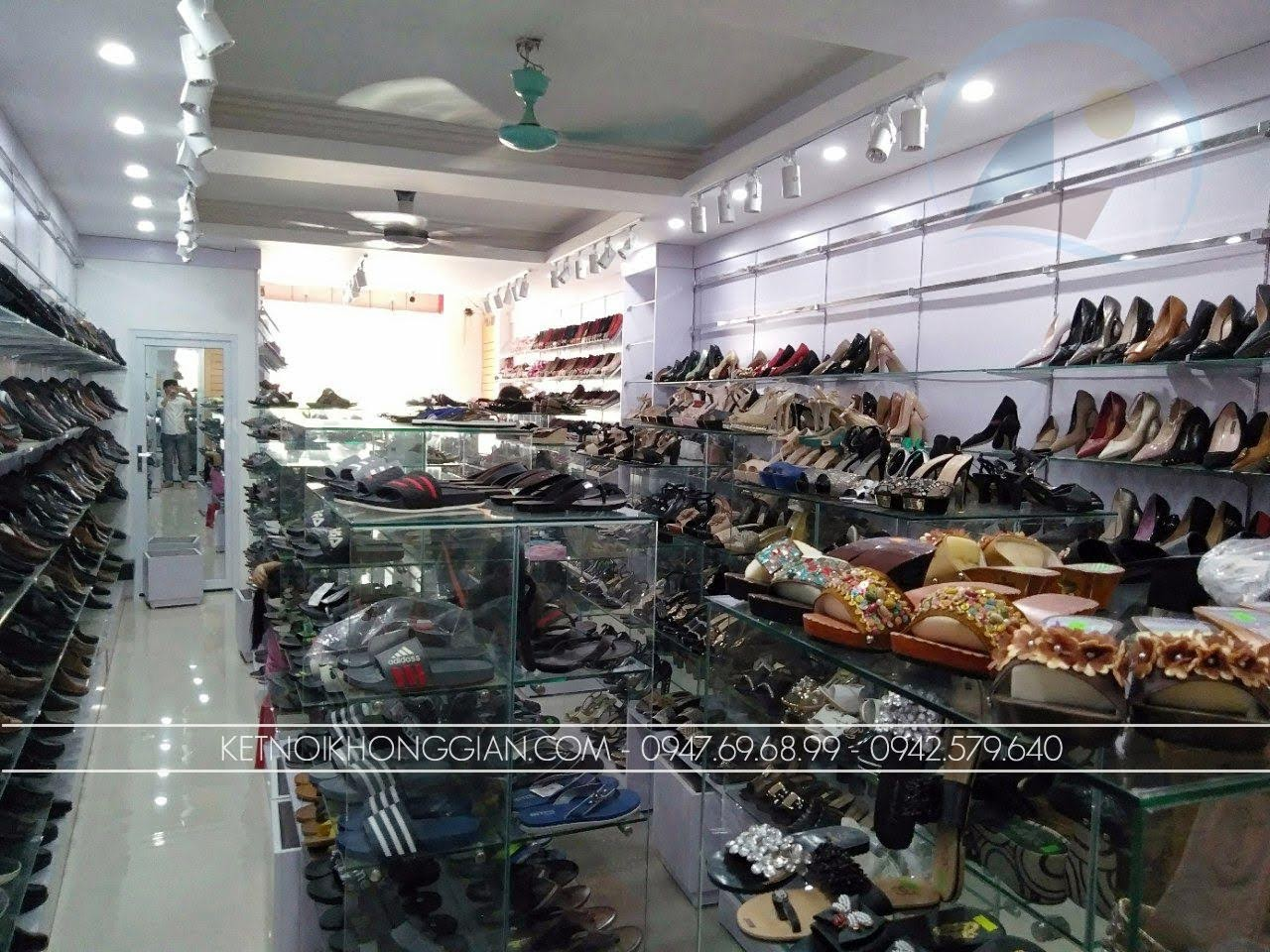 thiết kế thi công nội thất shop giày dép thời trang 6