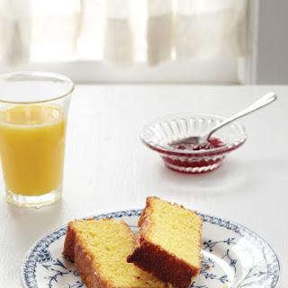 Lemon Cornmeal Cake.