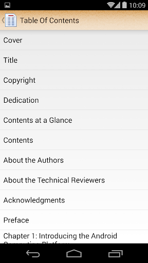 ePub Reader for Android 2.1.2 screenshots 4