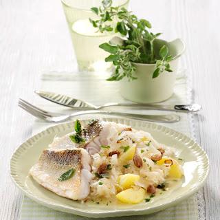 Zanderfilet auf Sauerkraut