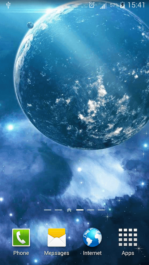 3d Parallax Background Live Wallpaper For Android Os Galaxy Parallax Live Wallpaper Android Apps On Google Play