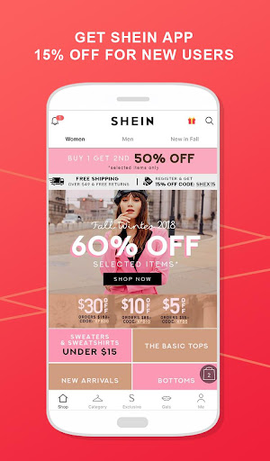 SHEIN-Fashion Shopping Online 6.3.4 screenshots 1