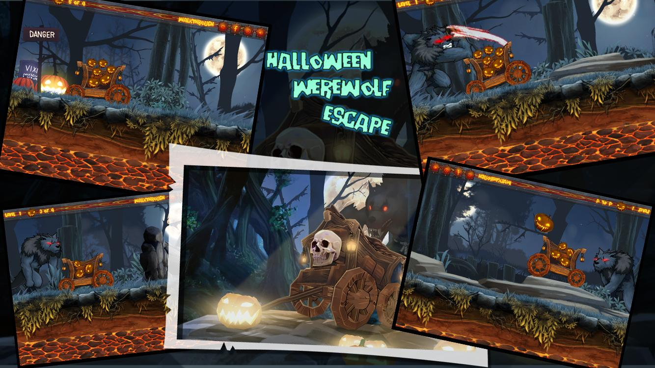 Halloween Werewolf Escape- screenshot