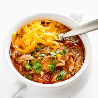 Slow Cooker Pulled Pork Chili.