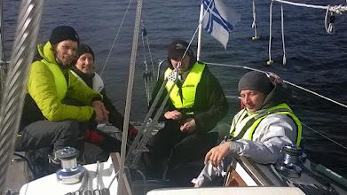 Photo: 14.5.2015 - arktinen osuus purjehduskurssista meneillään.