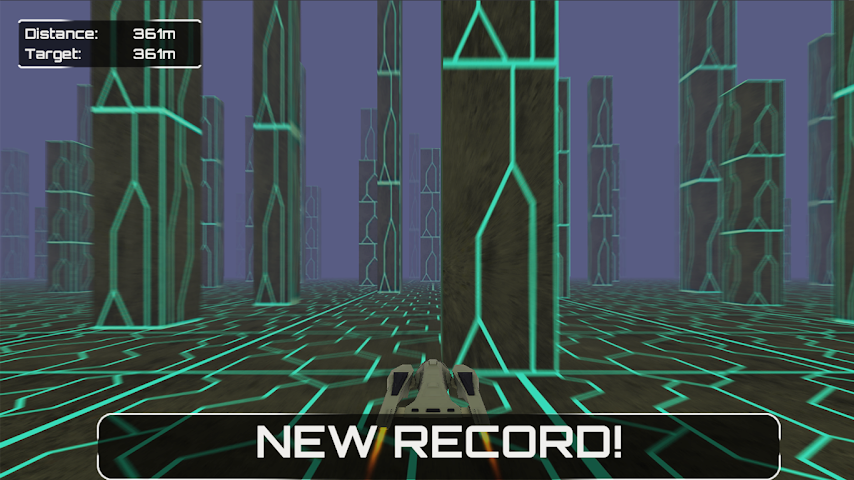 android Infinite Space Racer Screenshot 3