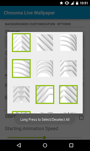 Chrooma Live Wallpaper  screenshots 18