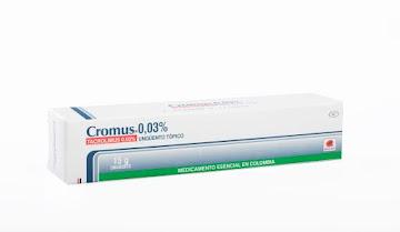 Cromus 0.03% Ungüento   Tubo x15G. Procaps Tacrolimus