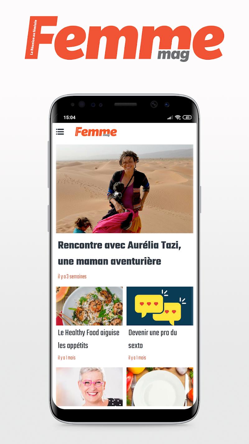 Скриншот FemmeMag