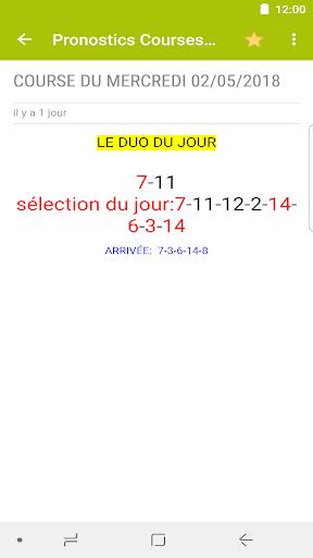 Pronostics Courses : Tiercu00e9, Quartu00e9, Quintu00e9 5.0.1 screenshots 6