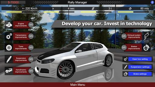Télécharger Gratuit Rally Manager Mobile Free  APK MOD (Astuce) screenshots 1