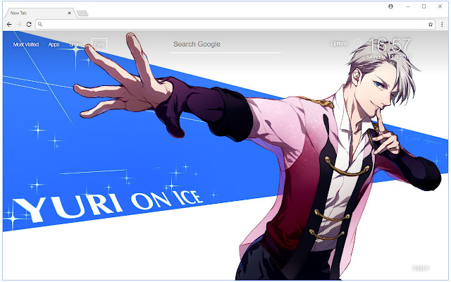 Yuri on Ice Wallpapers HD New Tab Themes