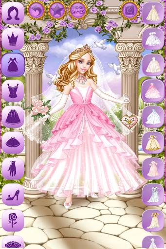 Cinderella Wedding Dress Up screenshots 1