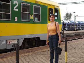 Photo: Csorna vasútállomás