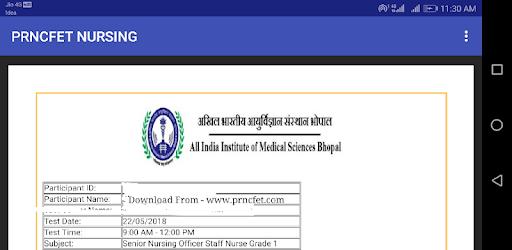 AIIMS Staff Nurse Paper - Apps on Google Play