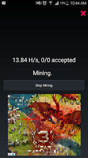 AA Miner (BTC,BCC,LTC,XMR,DASH.. CryptoCoin Miner) - náhled