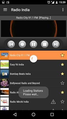 RADIO INDIA - screenshot