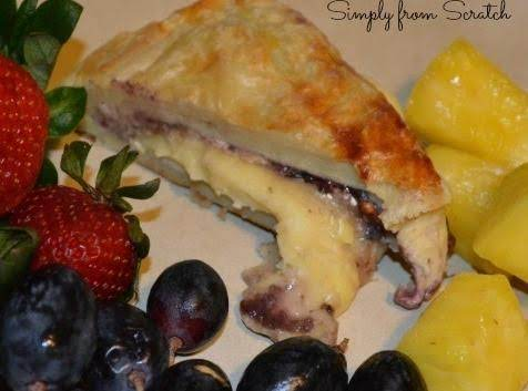 Blackberry Pecan Baked Brie Recipe