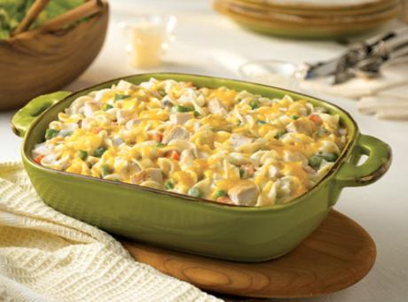 Country Chicken Noodle Casserole Recipe