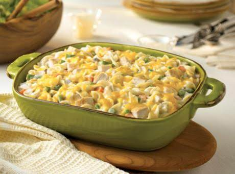 Country Chicken Noodle Casserole Recipe