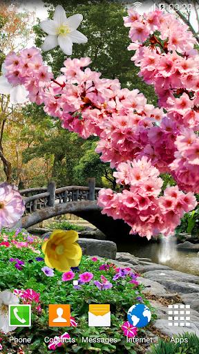 mod Spring Garden Live Wallpaper 1.0.7 screenshots 2