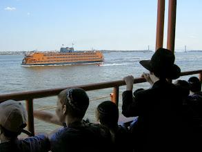 Photo: De camino a Liberty Island.