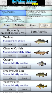 My Fishing Advisor: miniatura de captura de pantalla