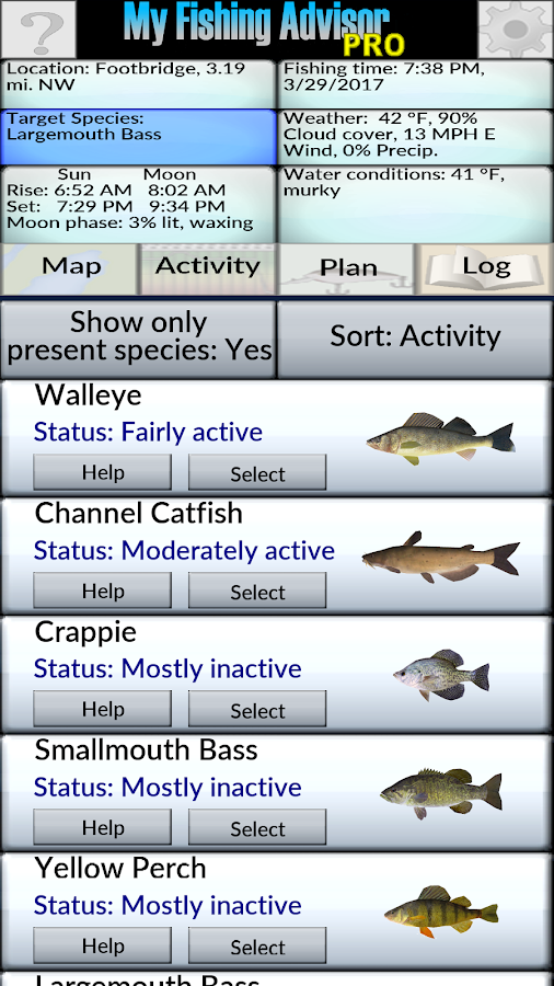 My Fishing Advisor- screenshot