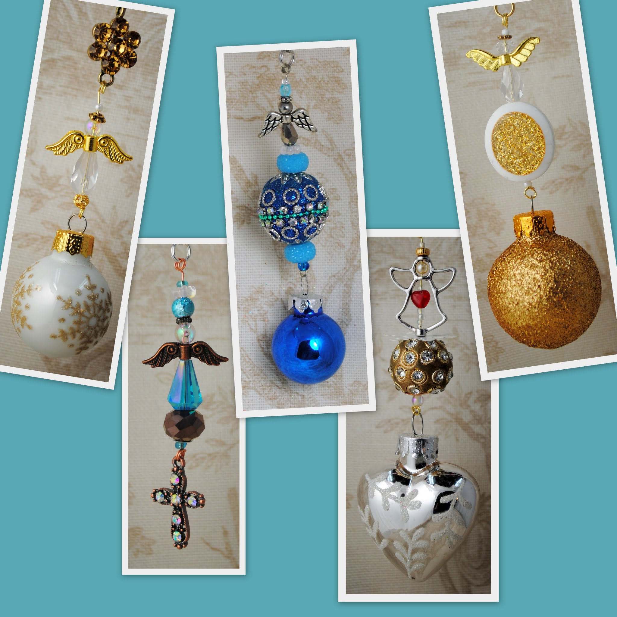 Heavenly Peace Christmas Ornaments