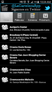 La Cartelera App screenshot 1