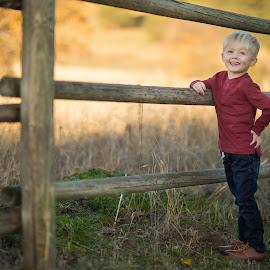 Ranch kid by Casey Bebernes - Babies & Children Child Portraits
