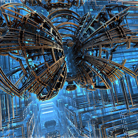 On Closer Inspection by Ricky Jarnagin - Illustration Abstract & Patterns ( abstract, ricky jarnagin, mandelbulb, dsynegrafix, 3d art, fractal, digital )