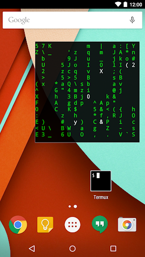 Screenshot for Termux:Float in United States Play Store