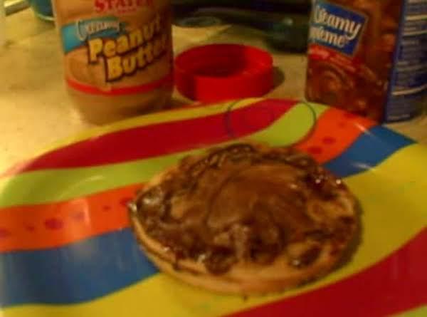 Chocolate Peanutbutter Waffles