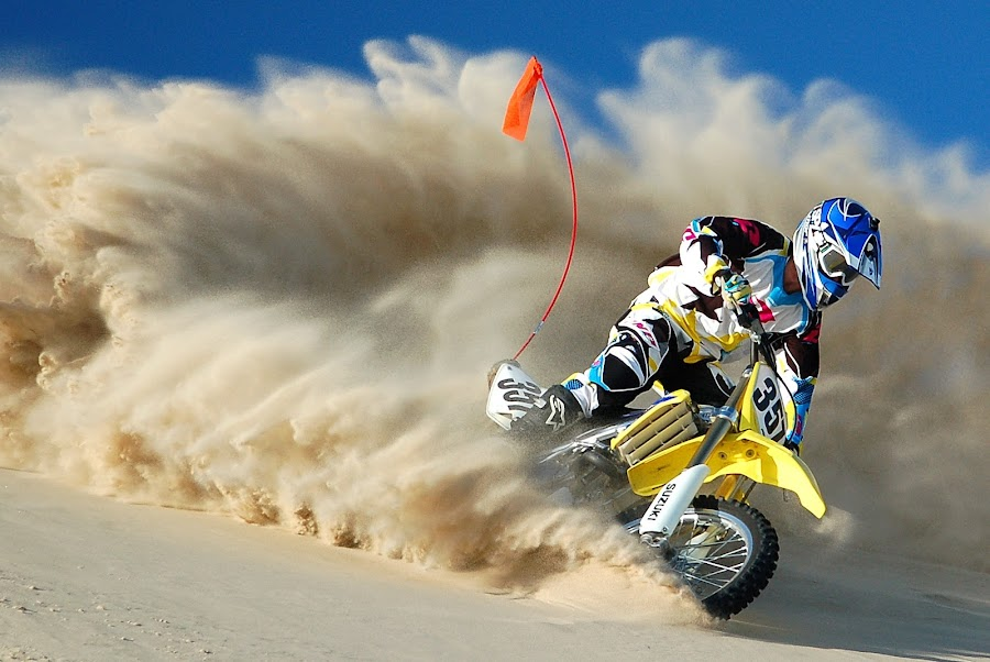 Sandbox by Alex LeBlanc - Sports & Fitness Motorsports ( motocross dunes mx  riding action )