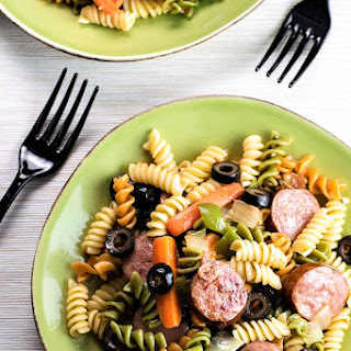 Smoked Sausage Pasta Salad Recipes