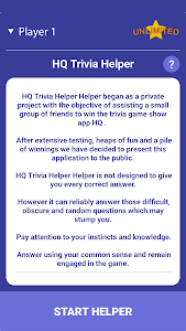 Download HQ Trivia Helper Unlimited APK latest version game for android  devices