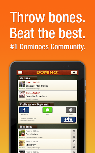 Domino! the world's largest dominoes community! Screenshot