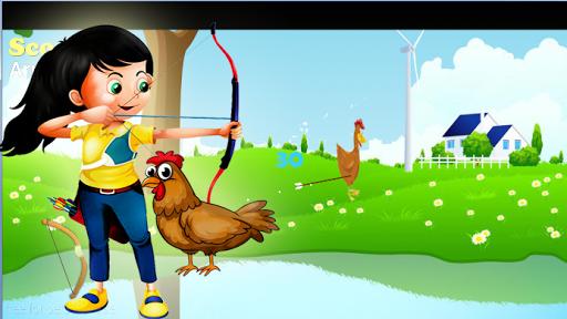 Archery shoot chicken