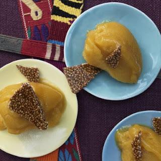Mexican Mango Sorbet Recipe